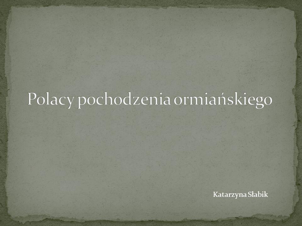 Ormianie polscy różnią się znacznie od pozostałych grup emigracji ormiańskiej.
