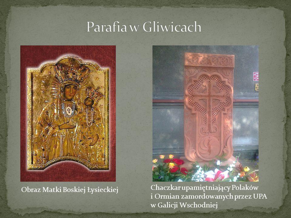 Obraz Matki Boskiej Łysieckiej Chaczkar upamiętniający Polaków i Ormian zamordowanych przez UPA w Galicji Wschodniej