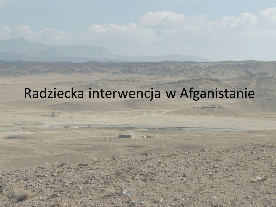 Radziecka interwencja w Afganistanie