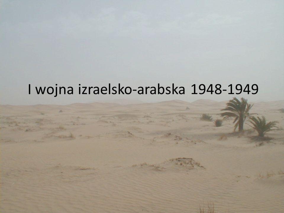 I wojna izraelsko-arabska 1948-1949