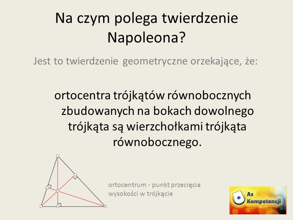 Jest to twierdzenie geometryczne orzekające, że: ortocentra trójkątów równobocznych zbudowanych na bokach dowolnego trójkąta są wierzchołkami trójkąta