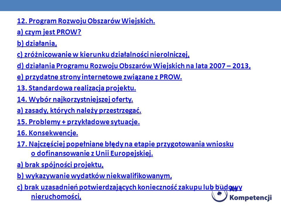 Więcej informacji na temat Rozwoju Obszarów Wiejskich znajdziesz na stronach: http://www.arimr.gov.pl/ http://www.minrol.gov.pl/