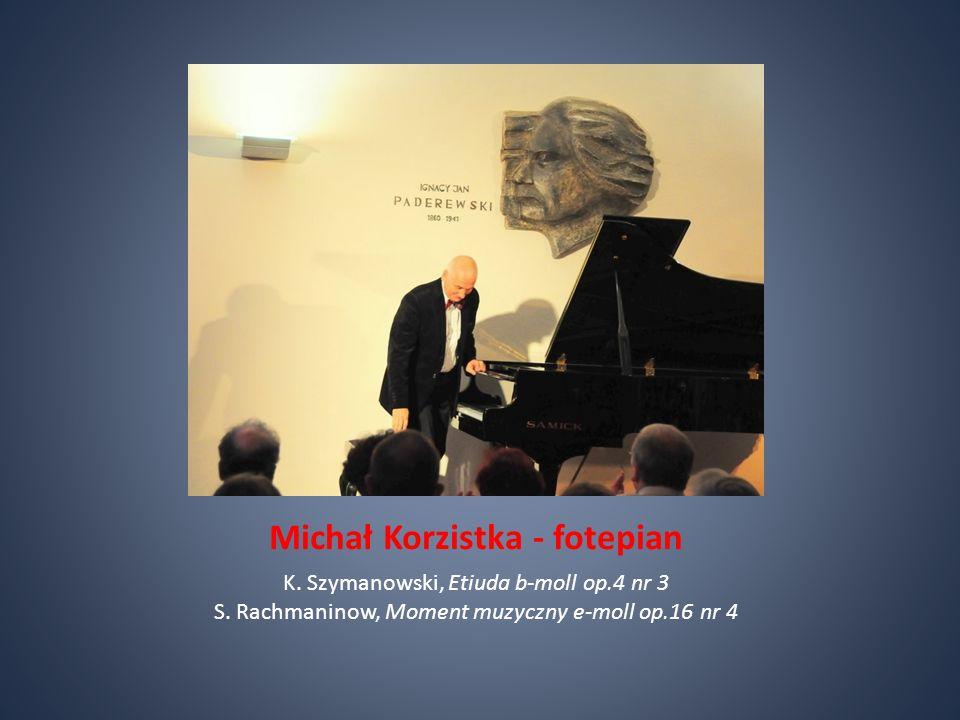 Michał Korzistka - fotepian K.Szymanowski, Etiuda b-moll op.4 nr 3 S.