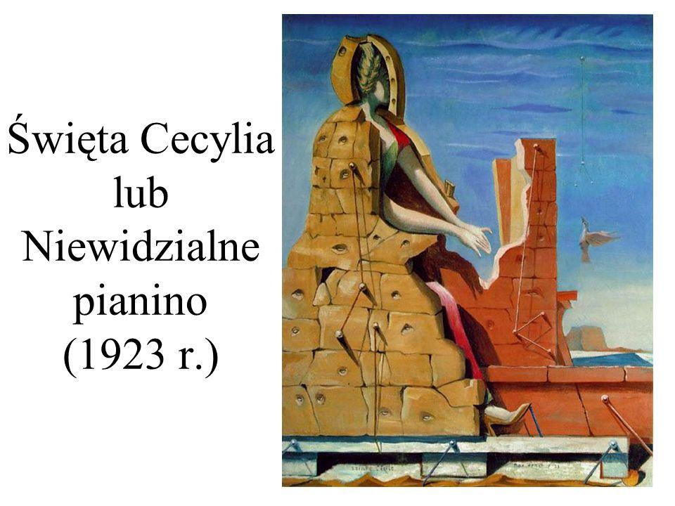 Święta Cecylia lub Niewidzialne pianino (1923 r.)