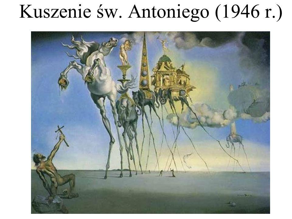 Kuszenie św. Antoniego (1946 r.)