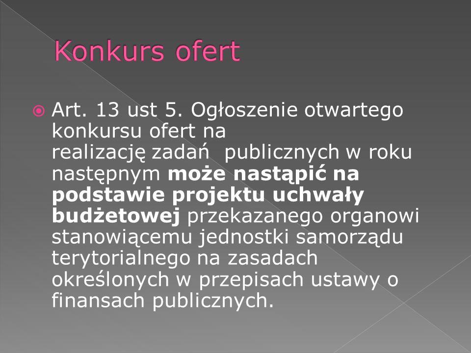 Art. 13 ust 5.