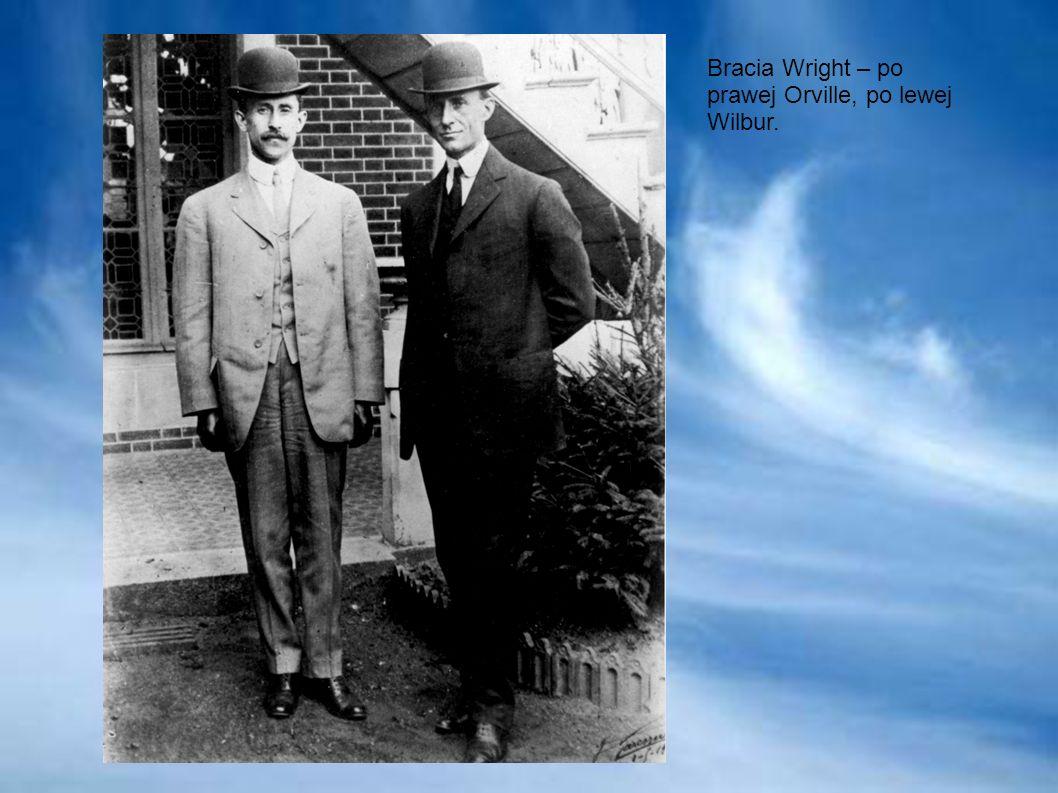 Bracia Wright – po prawej Orville, po lewej Wilbur.