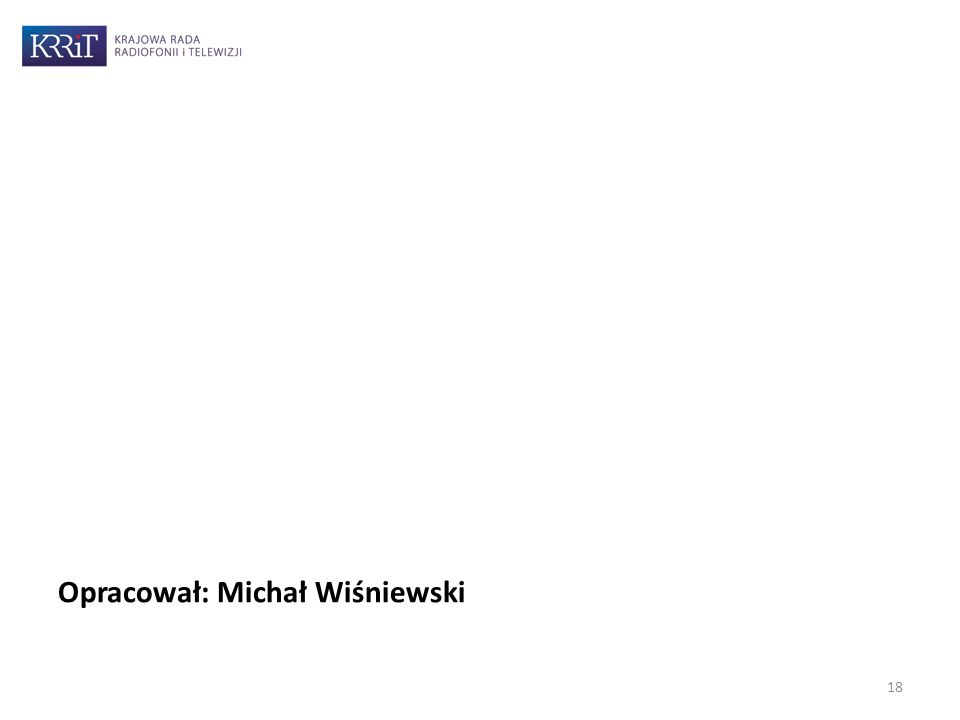 Opracował: Michał Wiśniewski 18