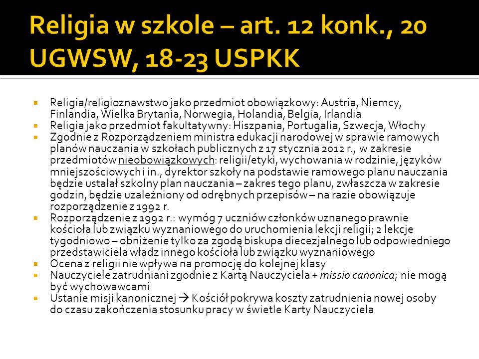 Szkolnictwo niepubliczne Szkolnictwo publiczne – ostrzejszy reżim zakładania tych szkół UGWSW Art.
