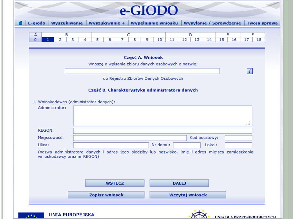 C ZĘŚĆ B Powierzenie przetwarzania danych osobowych – jeżeli administrator danych zamierza powierzyć przetwarzanie danych osobowych innemu podmiotowi, to powinien spełnić warunki określone w art.