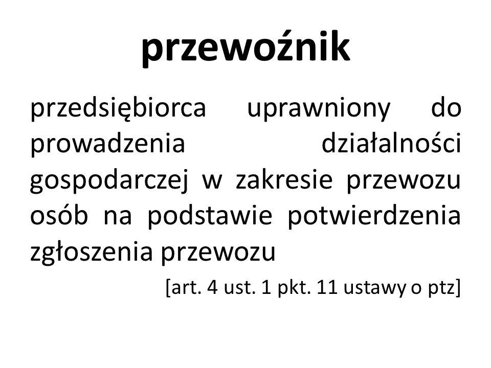 Nowe obowiązki przewoźnika komercyjnego c.d.