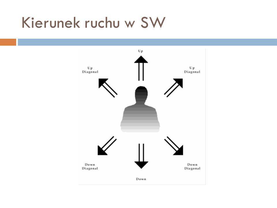 Kierunek ruchu w SW