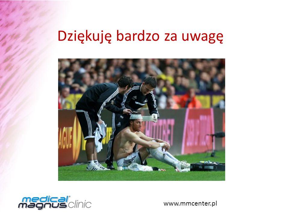 Dziękuję bardzo za uwagę www.mmcenter.pl