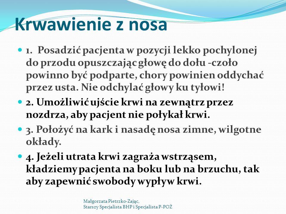 Krwawienie z nosa 1.