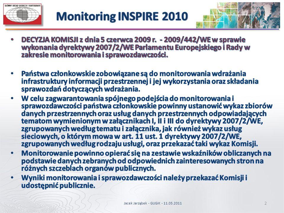 2 Jacek Jarząbek - GUGiK - 11.05.2011