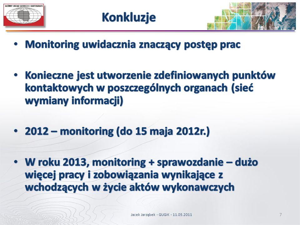 7 Jacek Jarząbek - GUGiK - 11.05.2011