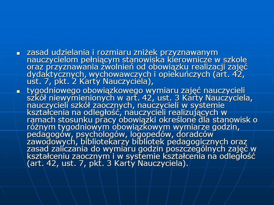 Złożenie przez kuratora oświaty wniosku do organu prowadzącego o dokonanie następującej czynności: