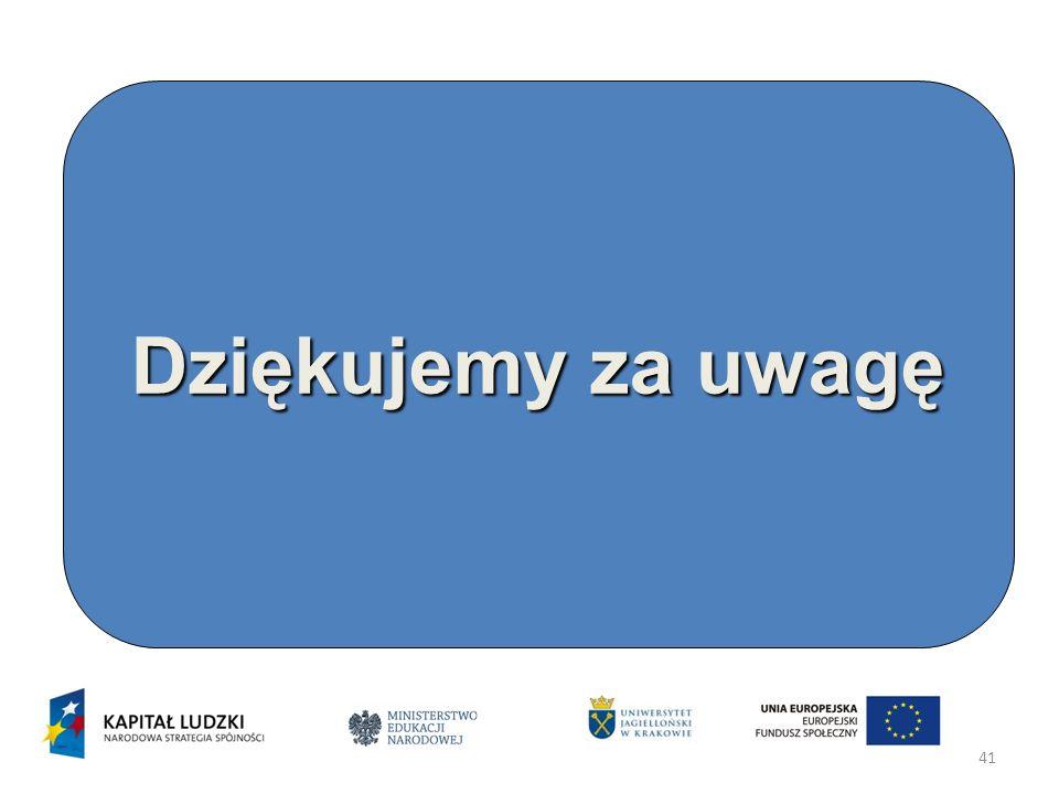 41 Dziękujemy za uwagę www.nadzorpedagogiczny.edu.pl