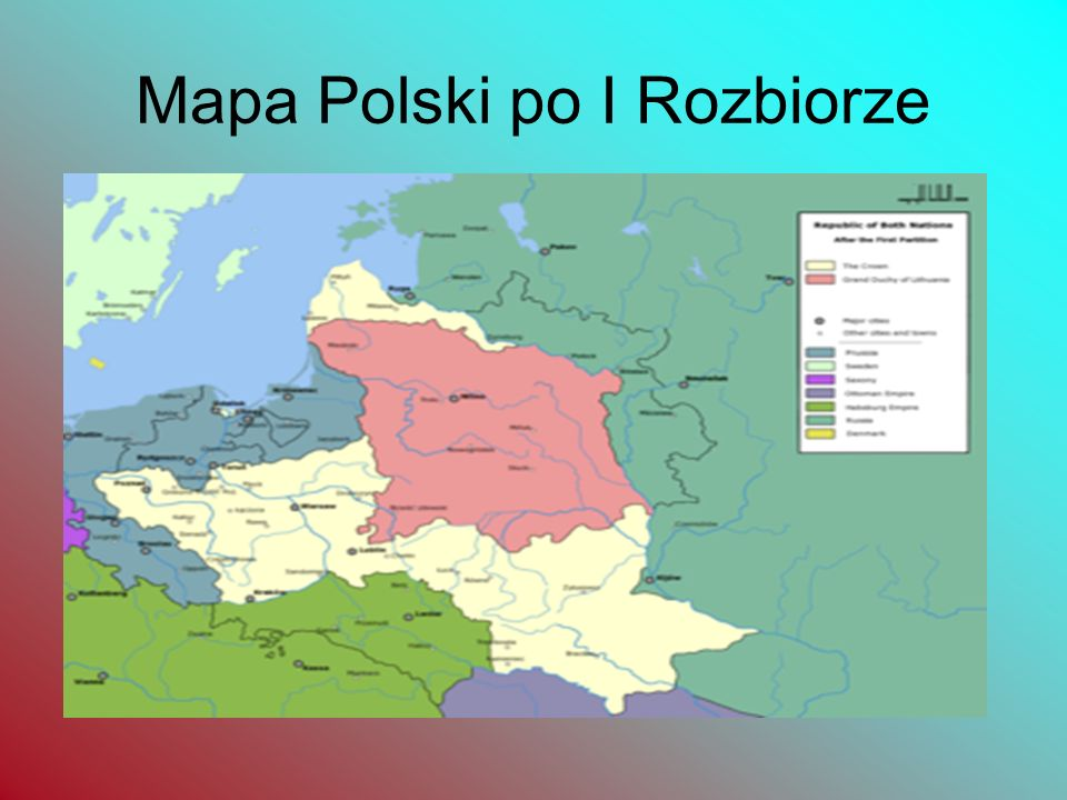 Opis strat I Rozbiorze Austria otrzymała całą południową Polskę po Zbrucz ze Lwowem, ale bez Krakowa (83 tys. km²). Przy czym już w 1770 r. Austria sa