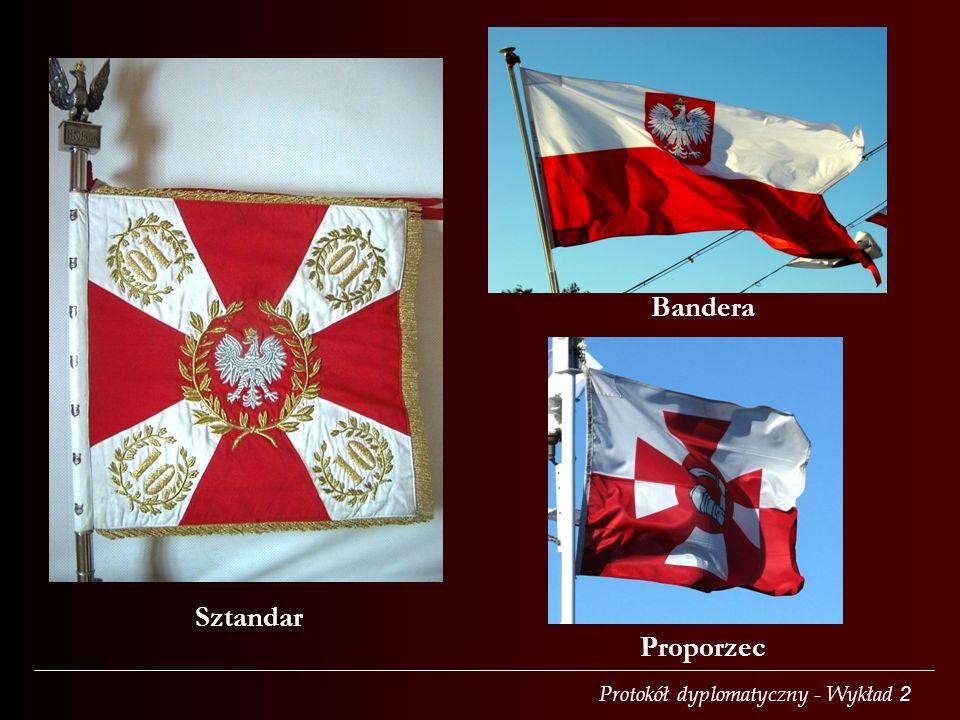 Sztandar Proporzec Bandera
