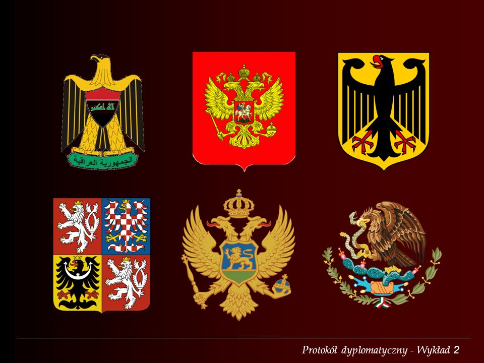 Protokół dyplomatyczny - Wykład 2 gonfalongonfanon
