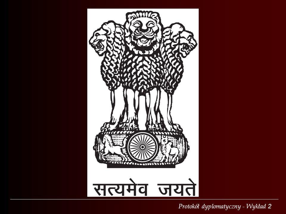 Protokół dyplomatyczny - Wykład 2 Art.6. 1.