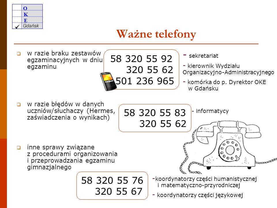 O K E Gdańsk 49 Uczniowie/słuchacze uprawnieni do zwolnienia Z czego wynikają uprawnienia do zwolnienia.