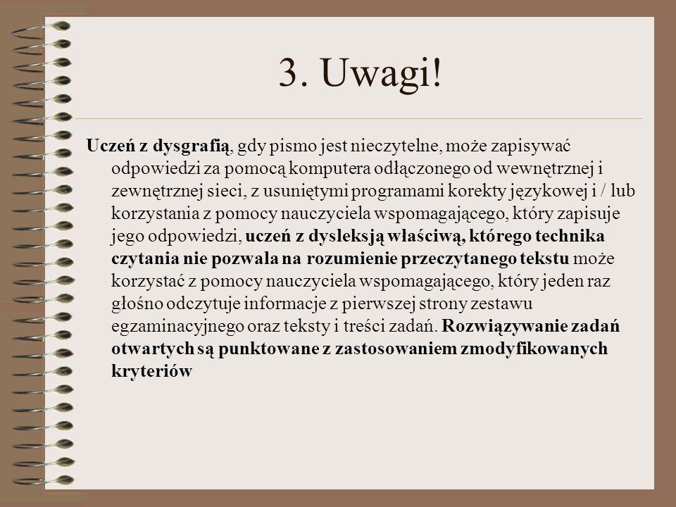 3.Uwagi.