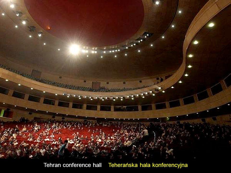The new Iranian Parliament Wnętrze nowego budynku irańskiego parlamentu
