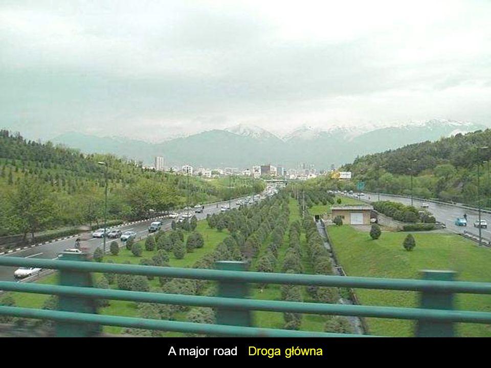 A major road Droga główna