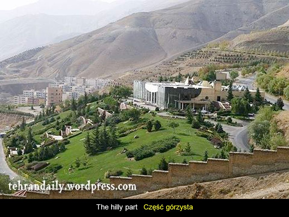 The hilly part Część górzysta