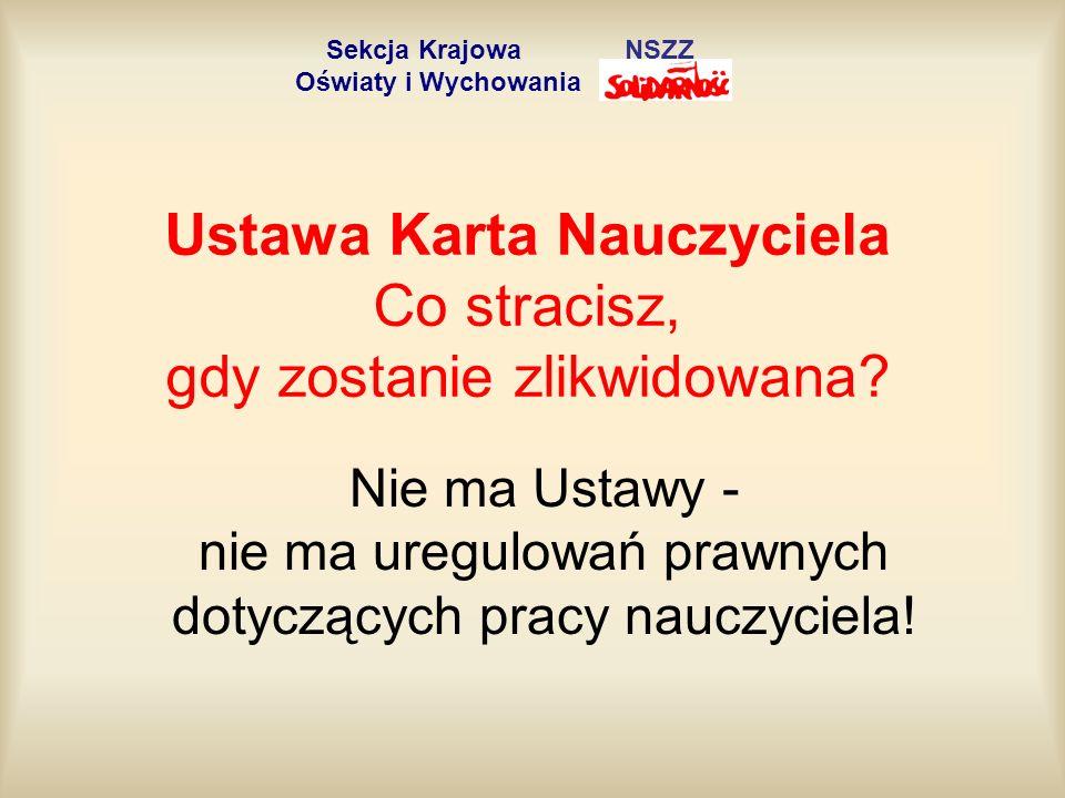 Wymagania kwalifikacyjne Art.9. 1. Stanowisko nauczyciela, z zastrzeżeniem ust.