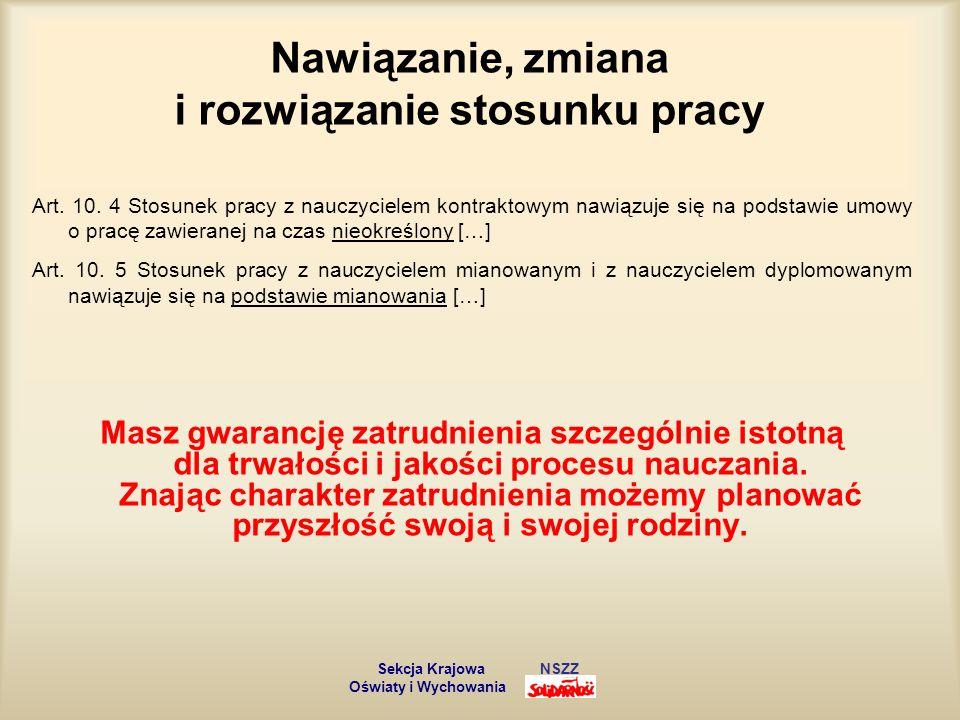 Obowiązki nauczyciela Art.6.