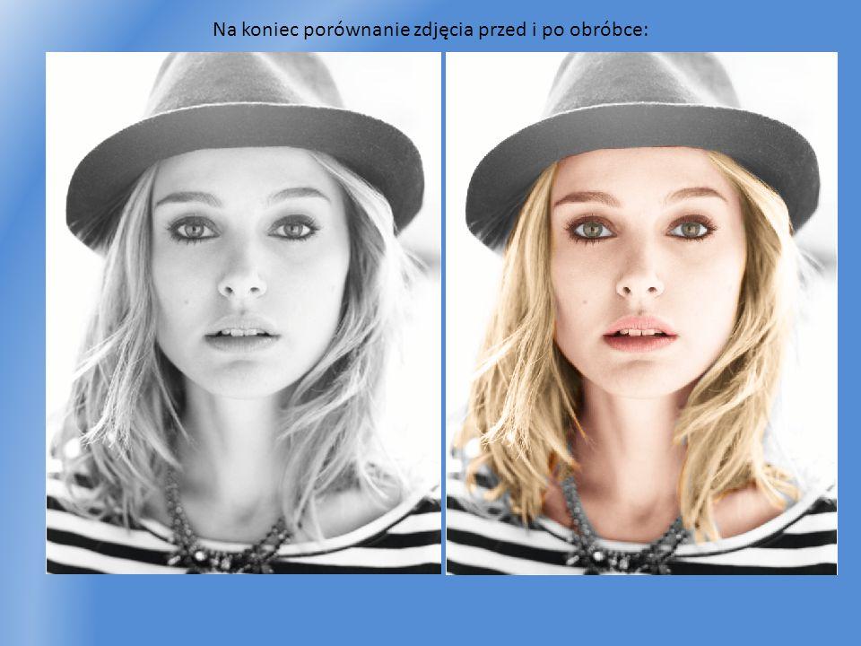 Na koniec porównanie zdjęcia przed i po obróbce: