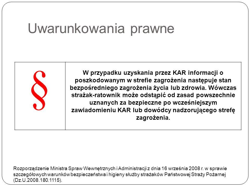 Uwarunkowania prawne Rozporządzenie Ministra Spraw Wewnętrznych i Administracji z dnia 16 września 2008 r. w sprawie szczegółowych warunków bezpieczeń