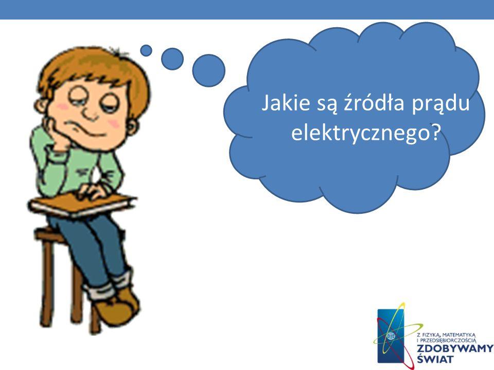 Jakie są źródła prądu elektrycznego?