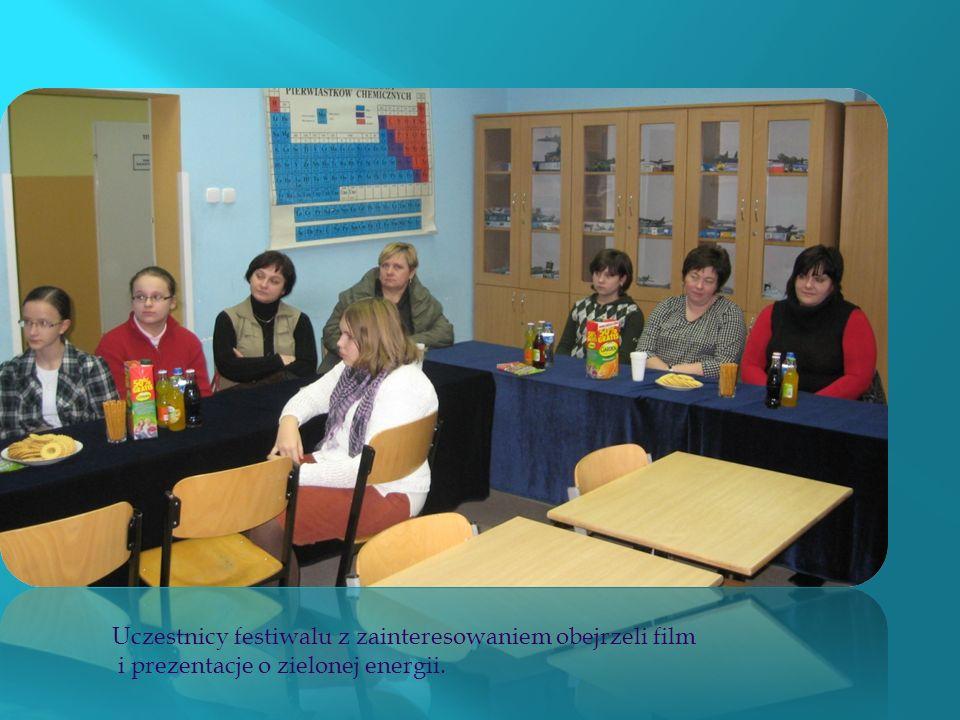 Podczas imprezy uczniowie i zaproszeni goście mogli obejrzeć film pt.Ekoenergia Opolszczyzny oraz prezentacje multimedialne ukazujące efekty działań u