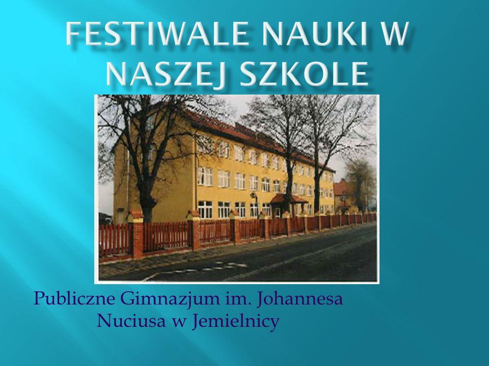 Publiczne Gimnazjum im. Johannesa Nuciusa w Jemielnicy