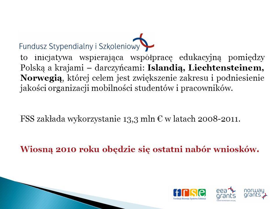 to inicjatywa wspierająca współpracę edukacyjną pomiędzy Polską a krajami – darczyńcami: Islandią, Liechtensteinem, Norwegią, której celem jest zwiększenie zakresu i podniesienie jakości organizacji mobilności studentów i pracowników.