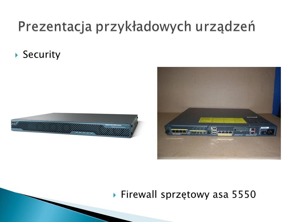 Security Firewall sprzętowy asa 5550