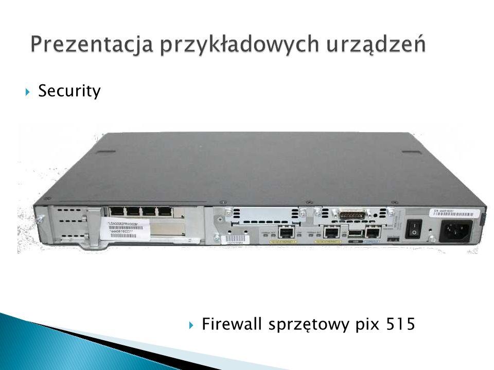 Security Firewall sprzętowy pix 515