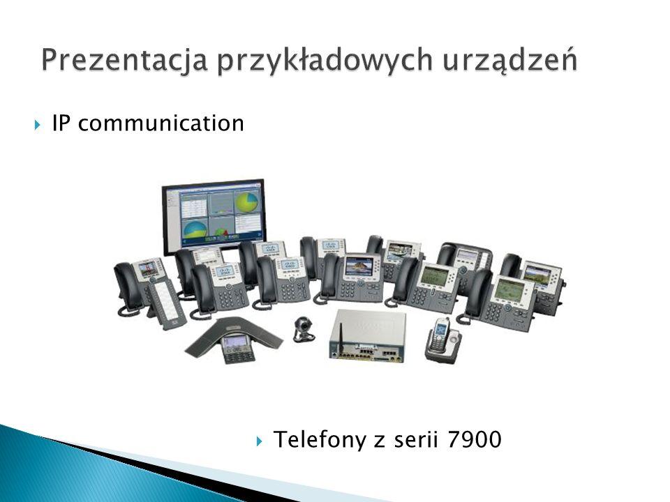IP communication Telefony z serii 7900