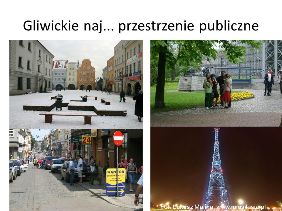 Gliwickie naj... przestrzenie publiczne Fot. Łukasz Malina; www.mmsilesia.pl