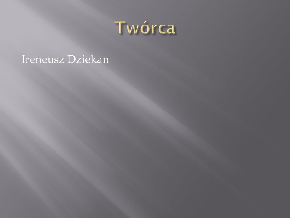 Ireneusz Dziekan