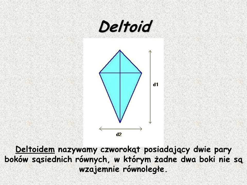 Aby obliczyć pole rombu, mnożymy przez siebie długości obu przekątnych (d1 i d2) lub długości boku (a) i wysokość (h) Pole rombu Wzór !!! P = ½. d 1.