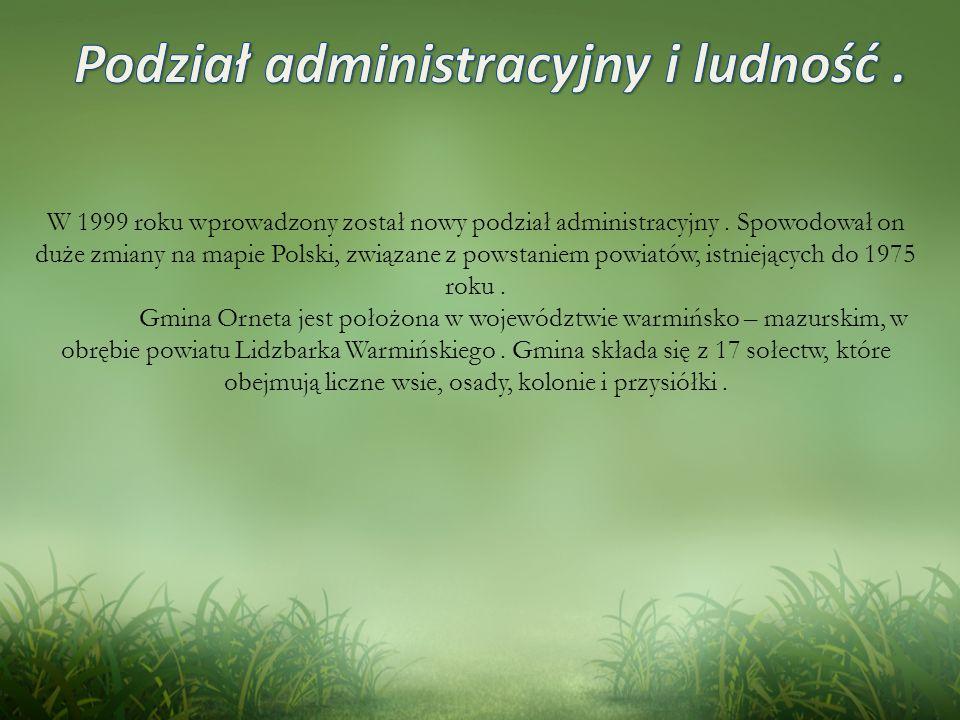 W 1999 roku wprowadzony został nowy podział administracyjny.