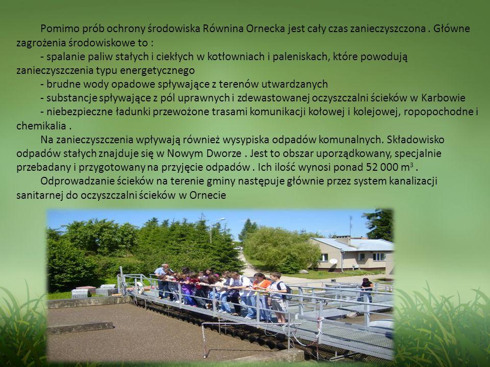 Pomimo prób ochrony środowiska Równina Ornecka jest cały czas zanieczyszczona.