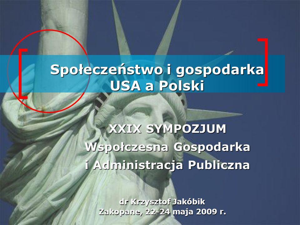 USA/Polska Polska USA Powierzchnia: USAPolska Źródło: Wikimedia Commons Forma państwa: 9 631 420 km²322 575 km² Federacyjne 50 stanów + District of Columbia Unitarne 12 województw