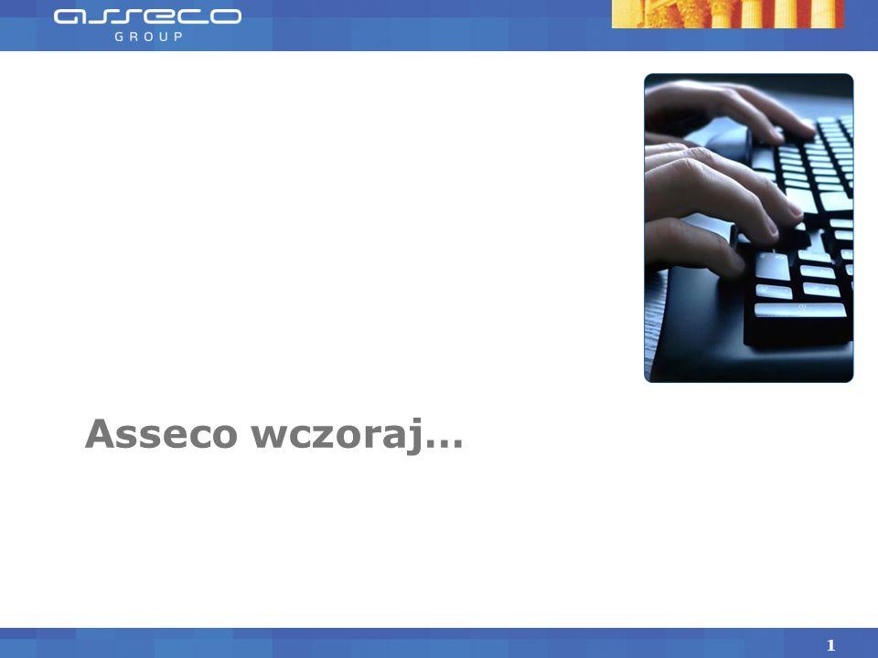 Asseco jako przykład budowy globalnej firmy IT z polskim przywództwem Rzeszów, 12 marca 2011 Adam Góral, Prezes Zarządu, Asseco Poland S.A.