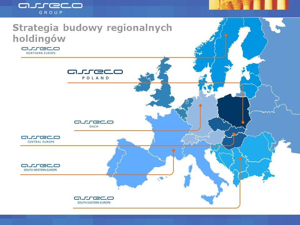 Asseco wśród europejskich liderów Asseco w pierwszej dziesiątce producentów oprogramowania w Europie